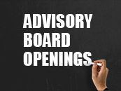 Advisory Board Openings_News Thumbnail