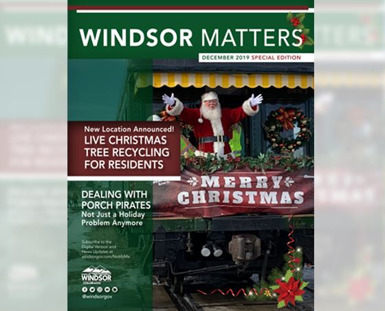 Town_Windsor Colorado Dec 2019 Newsletter