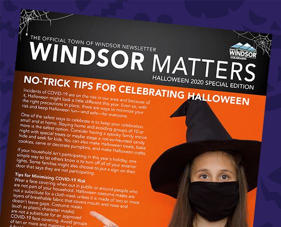Windsor Matters Halloween 2020 Special Edition Cover